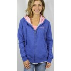 Baja Royal Blue Zipup Hooded Sweatshirt